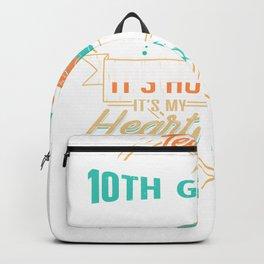 Teaching 10th Graders How I Roll Backpack