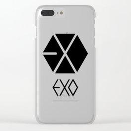 Exo Logo Clear iPhone Case