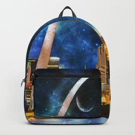 Spacey St. Louis Skyline Backpack