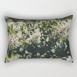 Beautiful Flowers Rectangular Pillow