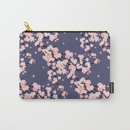 Sakura in night. Carry-All Pouch