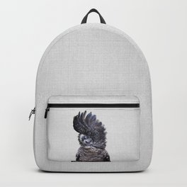 Black Cockatoo - Colorful Backpack