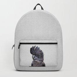Black Cockatoo - Colorful Backpack