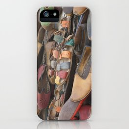 Colourful Hand Crafted Sandals iPhone Case