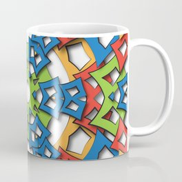 aztec mandala big sun Coffee Mug