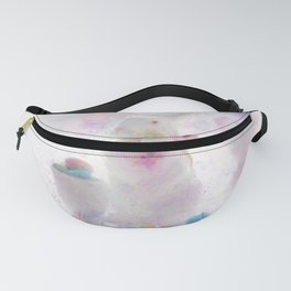 Pastel Easter Bunny Still Life Impressionist Painting Fanny Pack