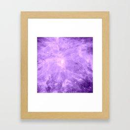 Lavender Orion Nebula Framed Art Print