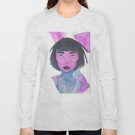 Dimensional Girl Long Sleeve T-shirt