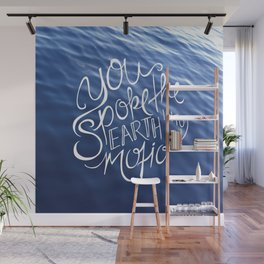 You Spoke the Earth into Motion Wall Mural