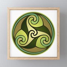Earthly Emblem Framed Mini Art Print
