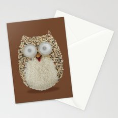Specs, The Grainy Owl! Stationery Cards