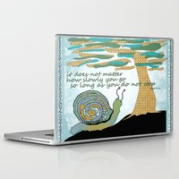 lee pace Laptop & iPad Skins featuring Set Your Pace by SueOdesigns