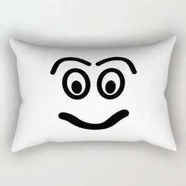 Funny face - smile. Rectangular Pillow