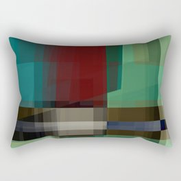 seekin' illusion Rectangular Pillow