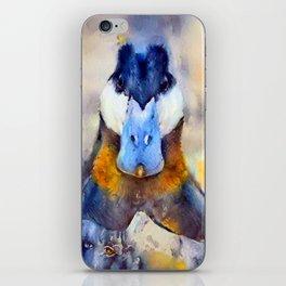 Mr. Ruddy Duck iPhone Skin