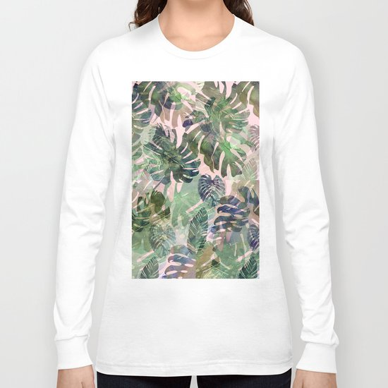 tropical confusion Long Sleeve T-shirt