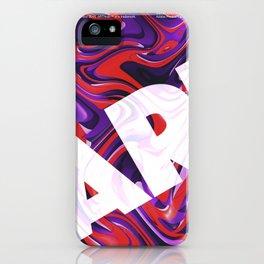 liquid. iPhone Case