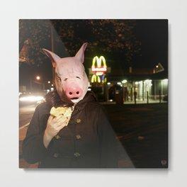 Fast Food Metal Print