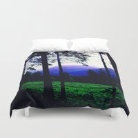 silhouette Duvet Covers featuring Silhouette by Eden Brown