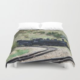 Durango&Silverton Engine 480 Duvet Cover