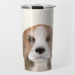 little beagle Travel Mug