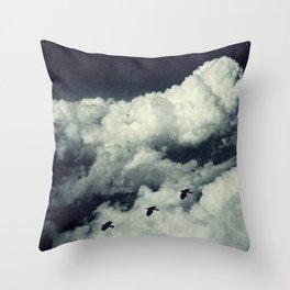 A Bird's Dream Throw Pillow