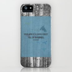 ee cummings - songbirds. iPhone (5, 5s) Slim Case