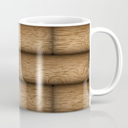Realistic wood texture Coffee Mug