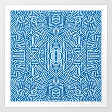Radiate - Dazzling Blue Art Print