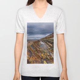 Hunstanton shipwreck Unisex V-Neck