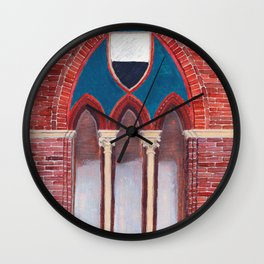 Finestra a Siena Wall Clock