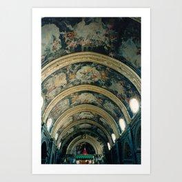 Heavenly Mural Art Print