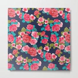 Floral Metal Print