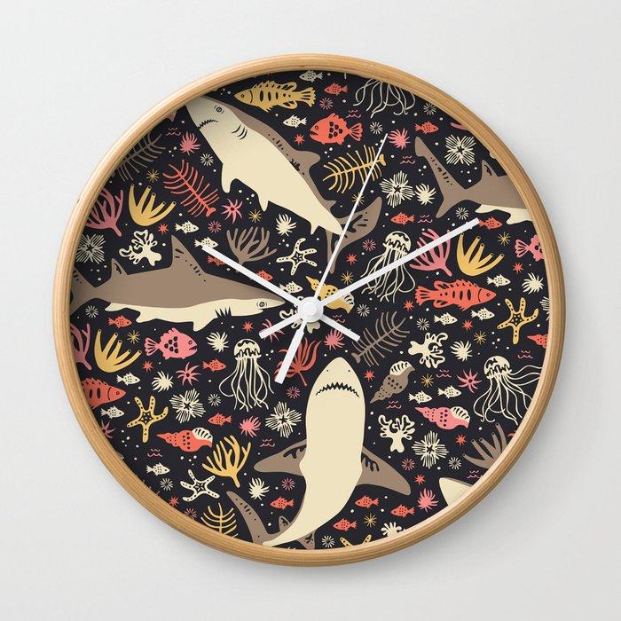 Oceanica Wall Clock