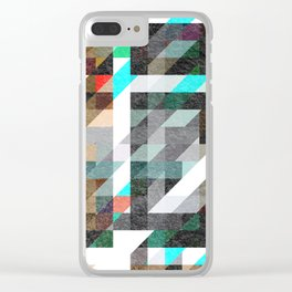 Digitally Textured Clear iPhone Case