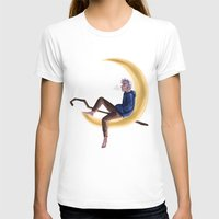 jack frost T-shirts featuring Frost on the Moon by Corelle_Vairel