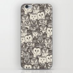 just owls natural iPhone & iPod Skin