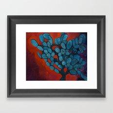 Mexico Cactus Framed Art Print
