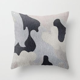 Camo-ver Here Throw Pillow