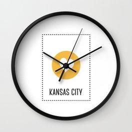 I Love Kansas City Wall Clock