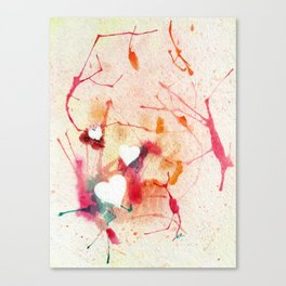 Warms My Heart Canvas Print