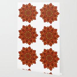 Rubino Zen Flower Yoga Mandala Asia Wallpaper