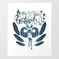 Aerosoul Heaven Art Print