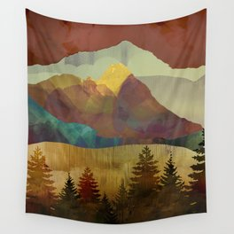 Autumn Sky Wall Tapestry
