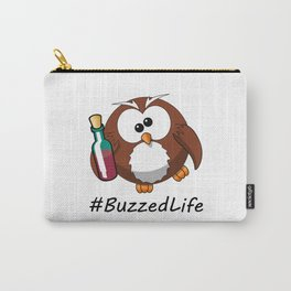 #BuzzedLife Drunk Owl Carry-All Pouch