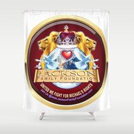 Jackson Family Foundation Crest Shower Curtain