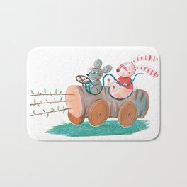 car 2 Bath Mat