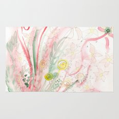 Summer flower meadow Rug