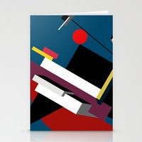 kandinsky Stationery Cards featuring STARSHIP by THE USUAL DESIGNERS