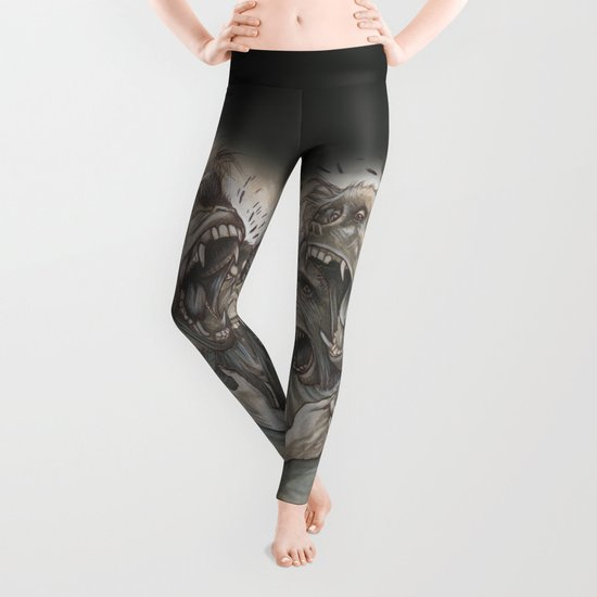 One Screaming Monkey at a Time Leggings